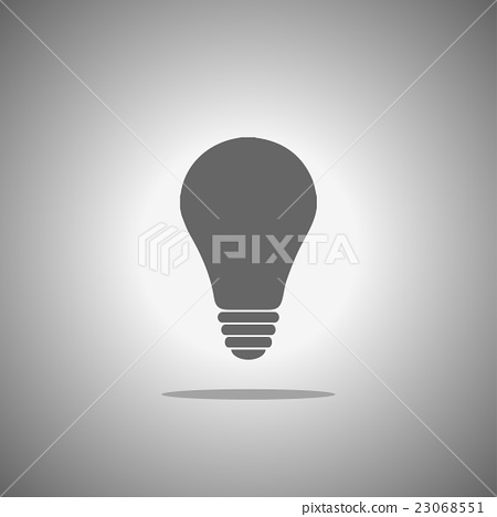 vector of lamp icon 23068551