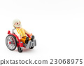 grandfather, man, wheel-chair 23068975