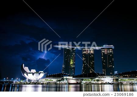 濱海灣金沙酒店位於新加坡和雷霆 23069186