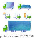 truck, trailer, forklift 23070050