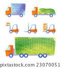 truck, trailer, forklift 23070051