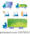 truck, trailer, forklift 23070052