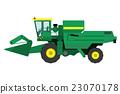 combine, harvester, tractor 23070178