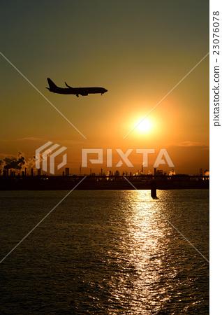 비행기 정경 23076078