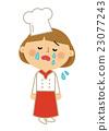 人们工作妇女厨师 23077243