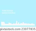 Print 요코하마 미나토 미라이 23077835