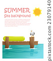 Enjoy tropical summer holiday background 2 23079140