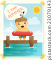 Enjoy tropical summer holiday with little boy 4 23079143