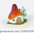 mushroom house 23084509