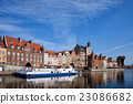City of Gdansk Old Town Skyline in Poland 23086682