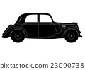 Coupe - vintage model of car 23090738