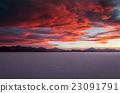 Sunset in Uyuni Bolivia 23091791