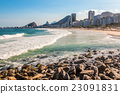 Copacabana beach in Rio Brazil 23091831