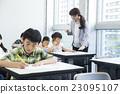 선생님과 초등학생 23095107