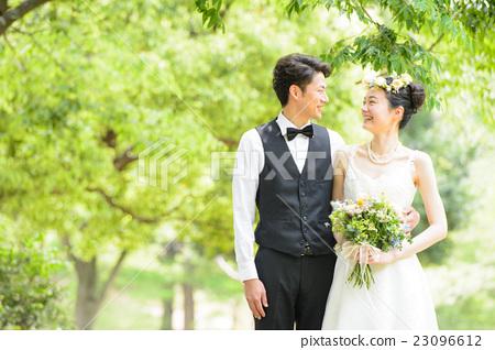婚禮 新郎新娘 結婚 23096612
