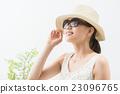 紫外线对策 草帽 墨镜 23096765