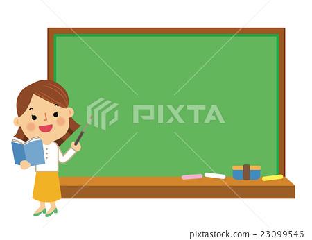 教学人员 工作中的女人 女生 23099546