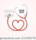 stethoscope heart medical 23100578