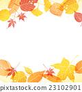 벡터, 낙엽, 프레임 23102901