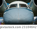 nose of the old Soviet passenger plane 23104642