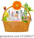 Vector Basket with SPA Cosmetics 23106927