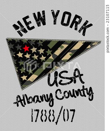 男孩的星艦旗圖案T卹打印設計 23107115