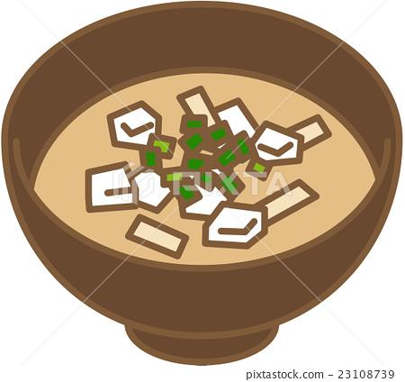 miso soup 23108739