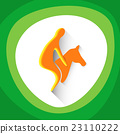 Sportsman Equestrian Horse Sport Competition Icon 23110222