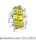 Belive in yourself Inspirational vector illustrati 23111913