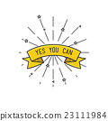 yes you can. Inspirational vector illustration, mo 23111984