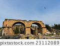 The parachute over ancient city of Hierapolis 23112089