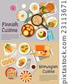 food, cuisine, vector 23113671