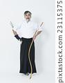 japanese archery, arrows, male 23115375