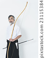 japanese archery, arrows, male 23115384