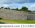 Stone brick wall 23115863