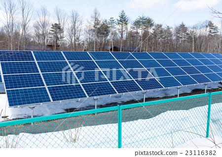 Solar panel plant station 23116382