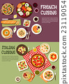 food, italian, french 23119054