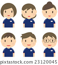일본 축구 유니폼을 입고 남녀 6 명 23120045