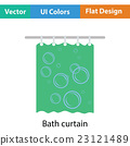 Bath curtain icon 23121489