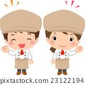 staff, cook, chef 23122194
