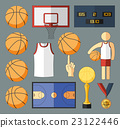 Basketball Vector Elements 23122446