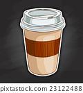 컵, 잔, 찻잔 23122488