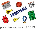 Basketball Vector Elements 23122490
