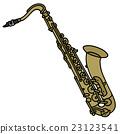 Classic brass saxophone 23123541