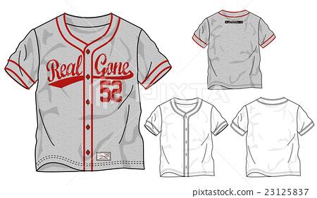베이스볼 셔츠 디자인 화 23125837