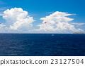 雷雲 積雨雲 滑翔傘 23127504
