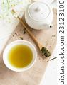 Japanese green tea 23128100