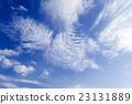 藍天天空背景背景材料 23131889