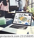 Cash Flow Economy Finance Investment Money Concept 23156695