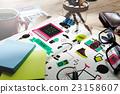 เคาน์เตอร์,โต๊ะเรียน,โต๊ะทำงาน 23158607